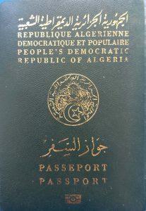 passeport algerien faire hijra algerie